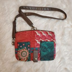 DESIGUAL CROSS BODY CLUTCH BAG